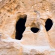 Stock Photo: Living ancient cavern in Little Petra