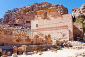 Altar of Temple of Dushares in Petra — Stock Photo