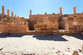Ruins of Great Temple in Petra — Stock Photo