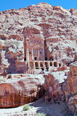 Front view on Urn Tomb Cathedral in Petra — Stock Photo