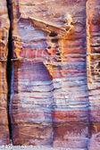 незавершенные гробницы в многоцветные сэндрок петра — Стоковое фото