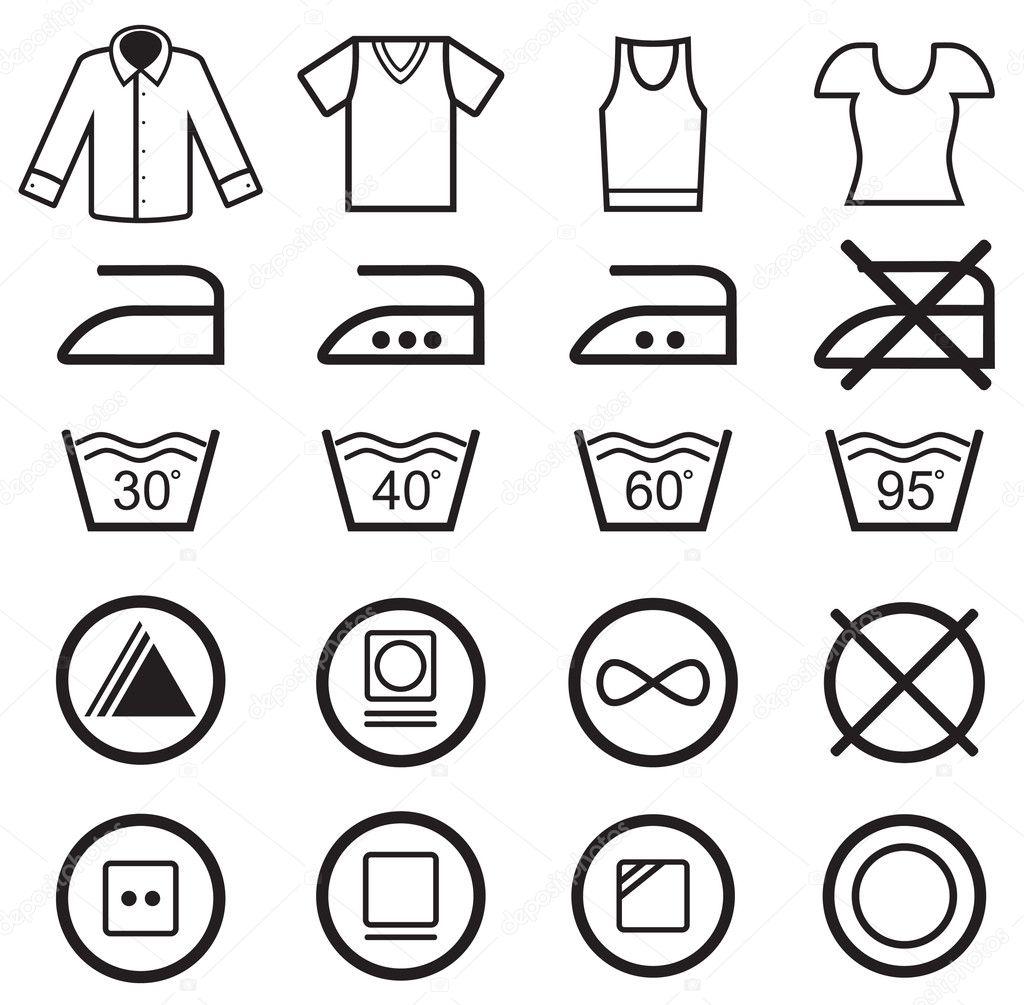 washing instruction symbols 40
