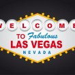 Welcome las vegas — Stock Vector