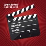 Clapper board — Stock Vector #10100682