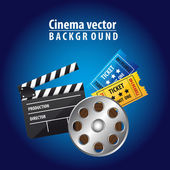 Cinema vector — Stock Vector