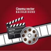 Cinema vector — Stock Vector