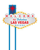 Welcome las vegas — Stockvector