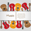 Guitar background — Stock Vector #10242687