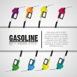 Gas pumps — Stock Vector #10242941