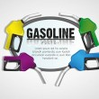 Background gas pumps — Stock Vector #10243282