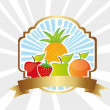 Fruit label — Stock Vector #10243882