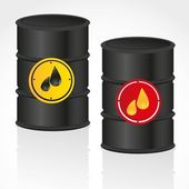Oil and petroleum gallon — Stock Vector