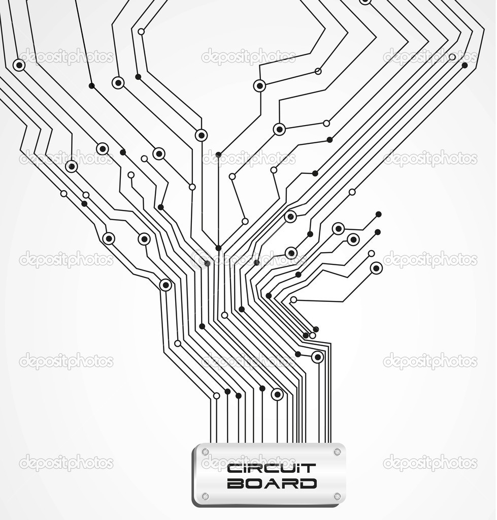 circuit board  u2014 stock vector  u00a9 grgroupstock  10243423