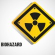 Biohazard sign - Stock Vector