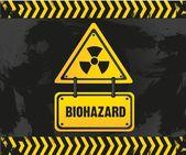 Biohazard sign — Stock Vector