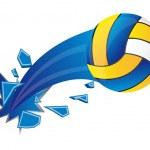 Постер, плакат: Volleyball