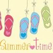 Vector de stock : Summer time