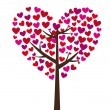 Love tree — Stock Vector #8675948
