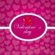 Stock Vector: Valentines day