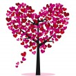 Love tree — Stock Vector #8676271