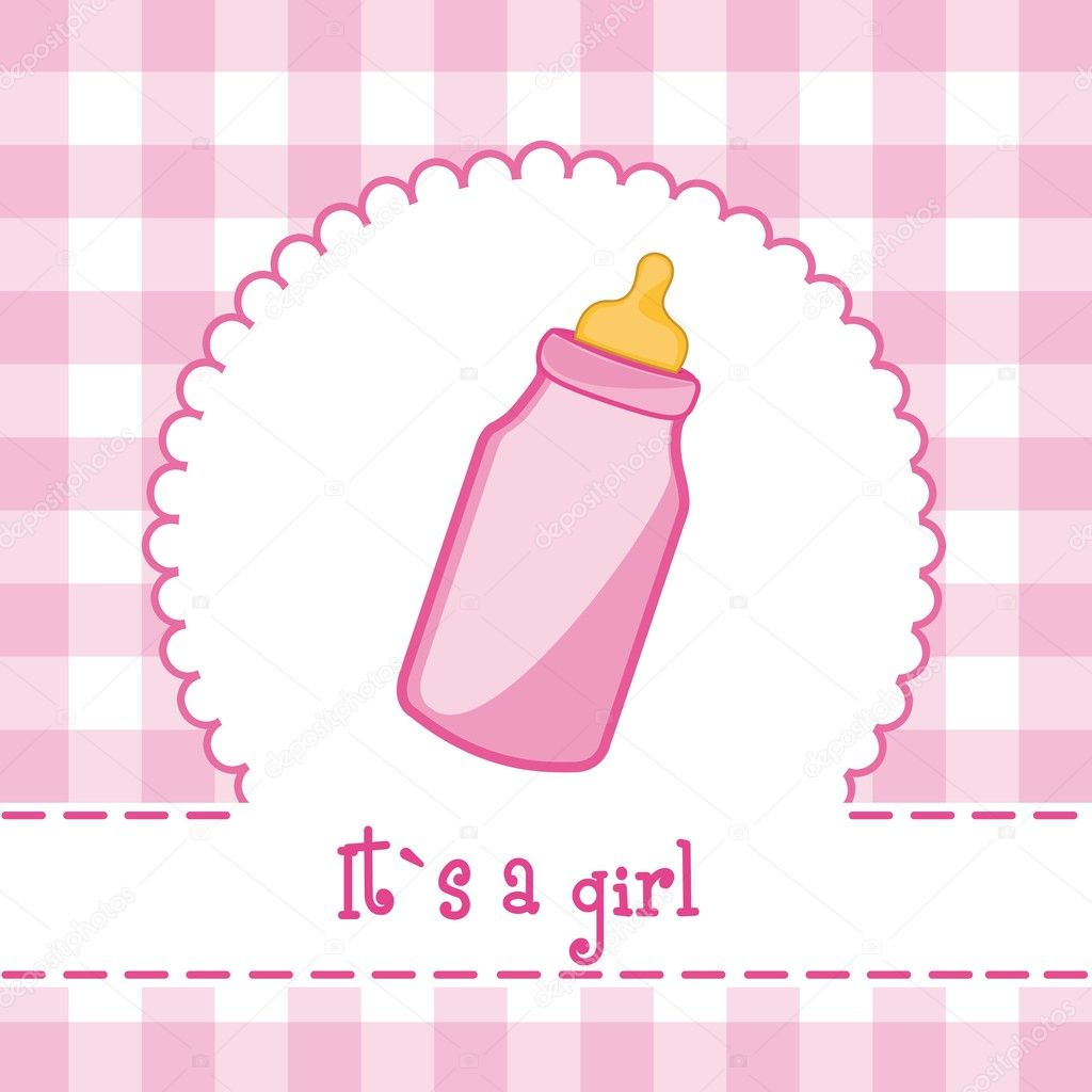 its a girl stock vector grgroupstock 8765367