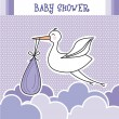 Baby shower - Vektorgrafik