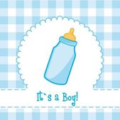 Its a boy — Stockvector