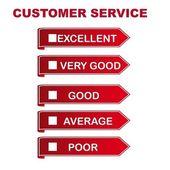 Custumer service — Stock Vector