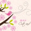 Royalty-Free Stock Immagine Vettoriale: Cute card