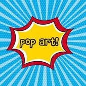 Pop art — Vector de stock