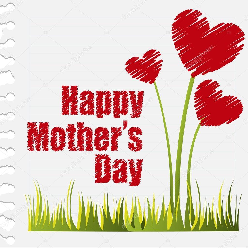 Happy mothers day — Stock Vector © grgroupstock #9526175
