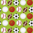 Royalty-Free Stock Vector Image: Sports balls background