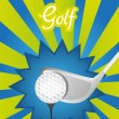 Golf background — Vettoriali Stock