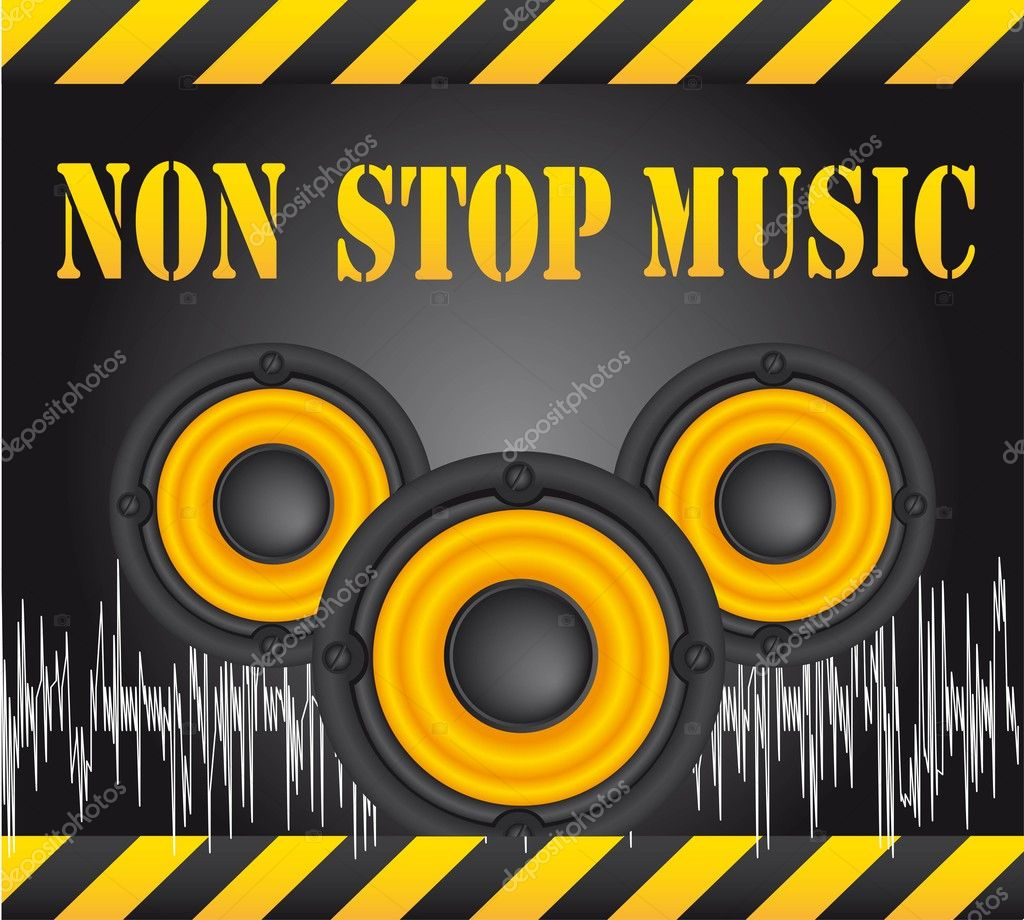Non stop music stock vector grgroupstock 9709037 for 2000s house music
