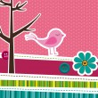 Cute background — Imagen vectorial