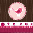 Royalty-Free Stock Vectorafbeeldingen: Cute bird vector