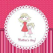 Dia das mães — Vetorial Stock