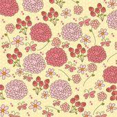 Cute flowers — Stock Vector