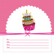 Stockvector : Birthday card