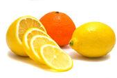 Tangerine and lemon — Stock Photo