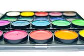 Box of paints — Stock Photo