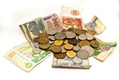 Různé měny — Stock fotografie