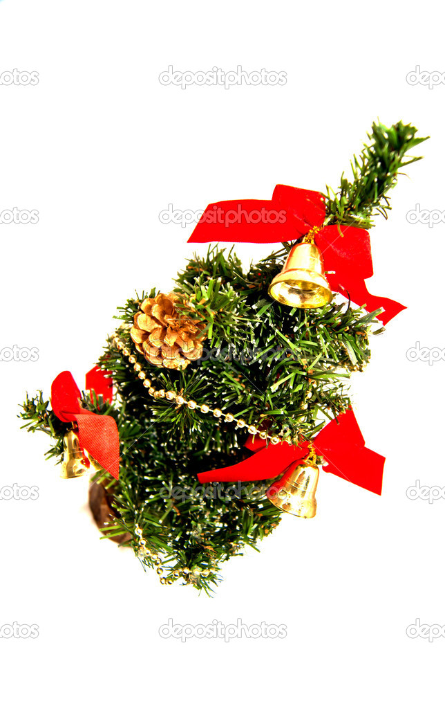 The Christmas tree — Stock Photo #8089403