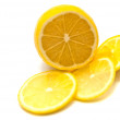 Lemon and lemon slices - Stockfoto
