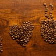 I love coffee inscription — Stock Photo