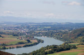 Danube Valley — Stock Photo