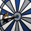 Stock Photo: Dart bullseye
