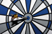Dart bullseye — Stock Photo