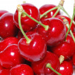 Many cherries large view - Stock Photo