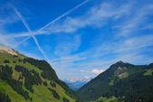 Vista montagna — Foto Stock